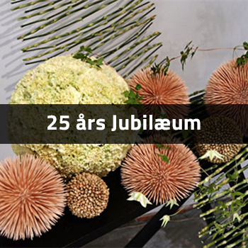 25 års Jubilærum | Birthes Blomster