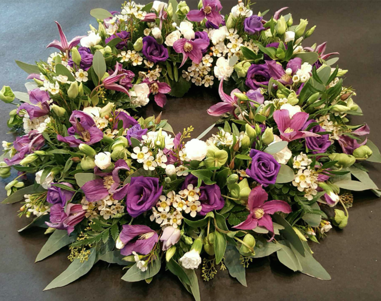 Krans begravelse | Birthes Blomster Herning
