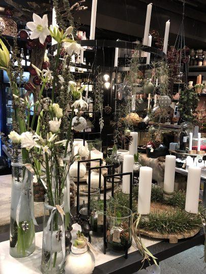 Hvid Jul hos Birthes Blomster